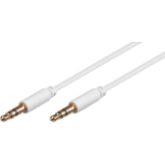 Microconnect AUDLL2W audio cable 1.5 m 3.5mm White