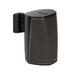 SoundXtra H1WM1021 Wall Acrylonitrile butadiene styrene (ABS), Steel Black speaker mount