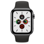 Apple Watch Series 5 OLED 44 mm Black 4G GPS (satellite)