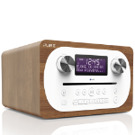 Pure Evoke C-D4 Analog & Digital 10 W Walnut,White