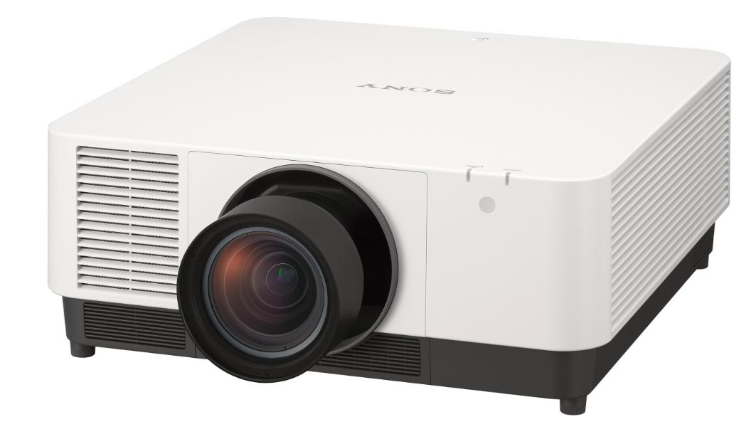 Sony VPL-FHZ131L videoproyector 13000 lúmenes ANSI 3LCD WUXGA (1920x1200) Proyector instalado en el techo Negro, Blanco
