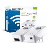Devolo dLAN 550+ WiFi 500 Mbit/s Ethernet LAN Wi-Fi Wit 1 stuk(s)