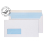 Blake Purely Everyday White Window Peel and Seal Wallet DL 110X220mm 100gsm (Pk 50)