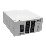 Tripp Lite Isolator Series Dual-Voltage 115/230V 1000W 60601-1 Medical-Grade Isolation Transformer, C14 Inlet, 8 C13 Outlets