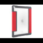 "STM Dux Plus 9.7"" Folio Grey,Red"