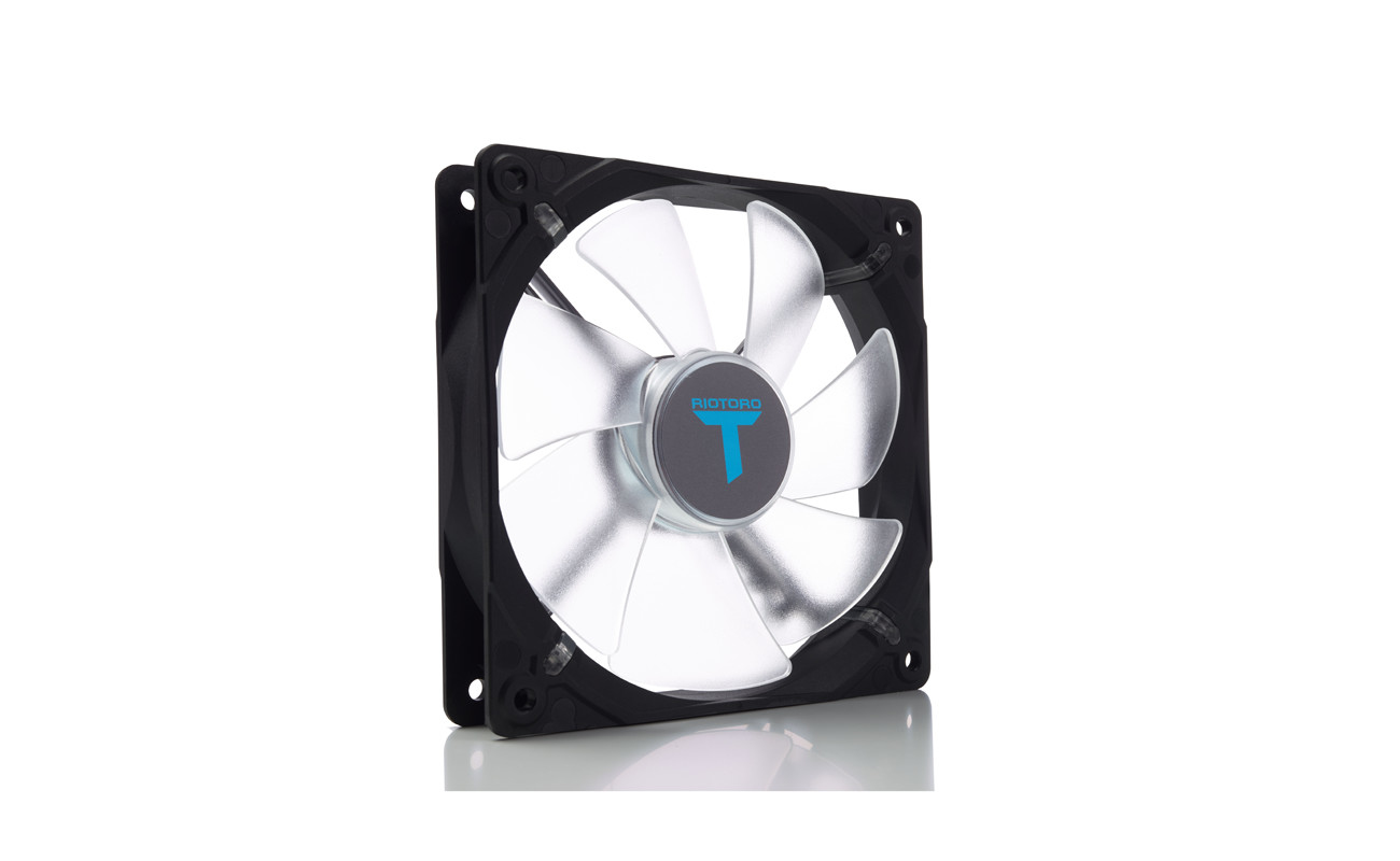 Riotoro FW120 computer cooling component Computer case Fan 12 cm Transparent