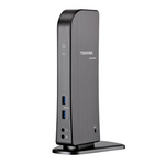 Toshiba Dynadock U3.0 Wired USB 3.0 (3.1 Gen 1) Type-A Grey,Metallic,Stainless steel