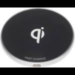 eSTUFF Wireless Charger Pad Black Indoor