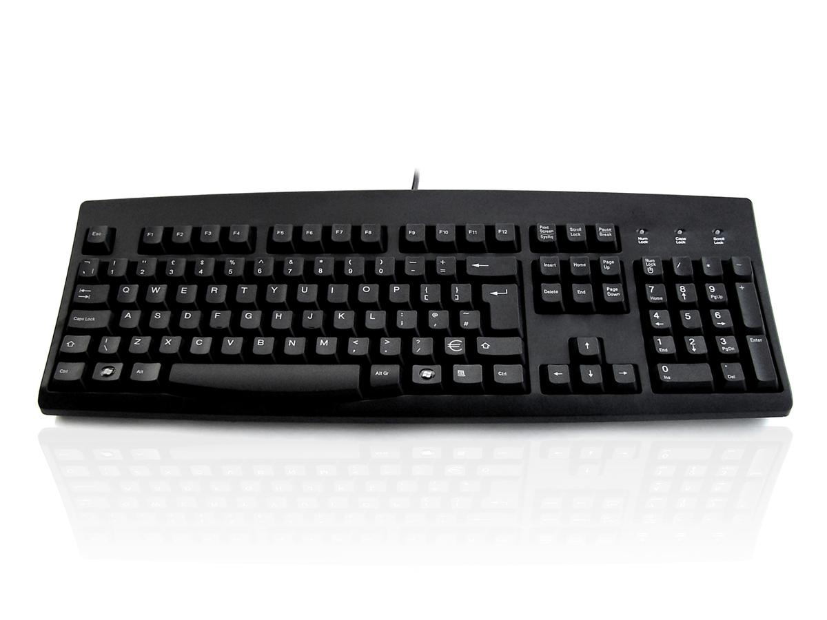 Accuratus 260 USB English Black keyboard
