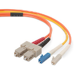 Belkin Mode Conditioning Fiber Cable 0.5m LC SC fiber optic cable
