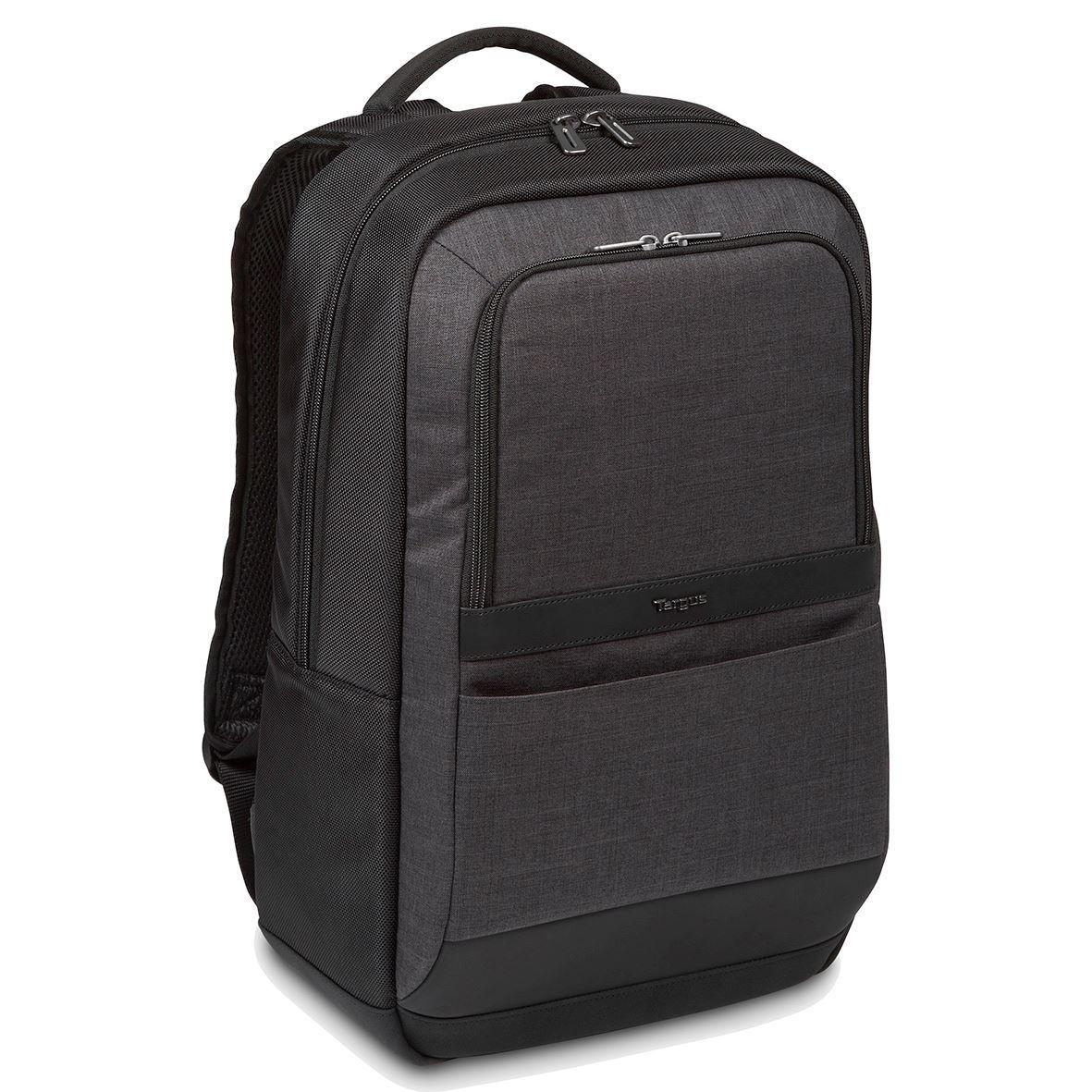 "Targus CitySmart 12.5 13 13.3 14 15 15.6"" Essential Laptop Backpack"