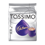 Tassimo Cadbury Hot Chocolate 240g Capsules (5 Packs of 8) 131270