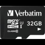 Verbatim Tablet U1 microSDHC Card with USB Reader 32GB