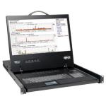 Tripp Lite NetController 8-Port Rack-Mount Console KVM Switch w/19-in. LCD