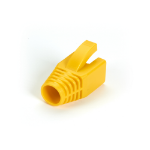 Black Box FMT8722 cable boot Yellow 50 pcs