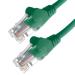 Connekt Gear 10M Green RJ45 UTP CAT 5e Stranded Flush Moulded Snagless Network Cable 24AWG