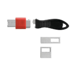 Kensington K67913WW cable antirrobo Negro, Rojo