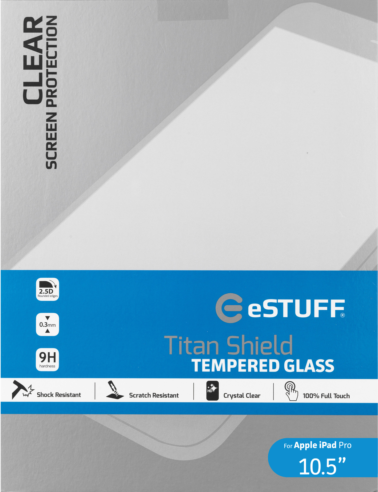 eSTUFF ES10235 Clear screen protector iPad Pro 1pc(s) screen protector