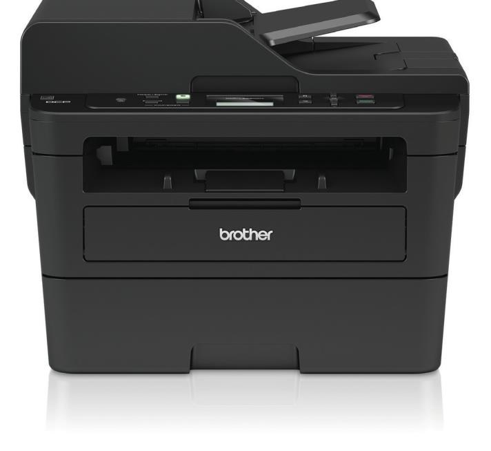 Brother DCP-L2550DN multifuncional Laser 1200 x 1200 DPI 34 ppm A4