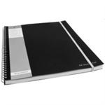 Pukka Pukka Pad A4 Meeting Pad 160 Page Silver/Black PK3