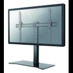 """Newstar FPMA-D1250BLACK 60"""" Freestanding Black flat panel desk mount"""