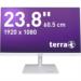 "Wortmann AG TERRA LED 2464W 23.8"" Full HD ADS White Flat computer monitor"
