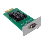 Tripp Lite Programmable Relay I/O Card for SVTX, SVX, S3MX and SV UPS Systems