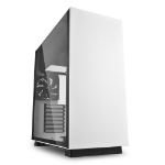 Sharkoon Pure Steel Midi ATX Tower Black,White