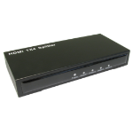 Cables Direct HD-SP204 video splitter HDMI 4x HDMI