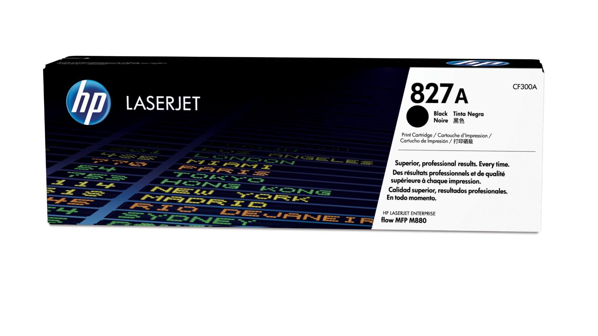HP 827A Origineel Zwart 1 stuk(s)