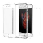 "ZAGG InvisibleShield Glass+ Contour 360 5.5"" Shell case Transparent, White"