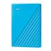 Western Digital My Passport disco duro externo 4000 GB Azul