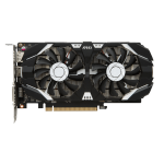 MSI GeForce GTX 1050 Ti 4GT OC GeForce GTX 1050 Ti 4GB GDDR5 graphics card