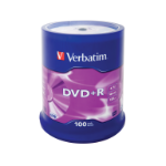 Verbatim DVD+R Matt Silver 4.7 GB 100 pc(s)