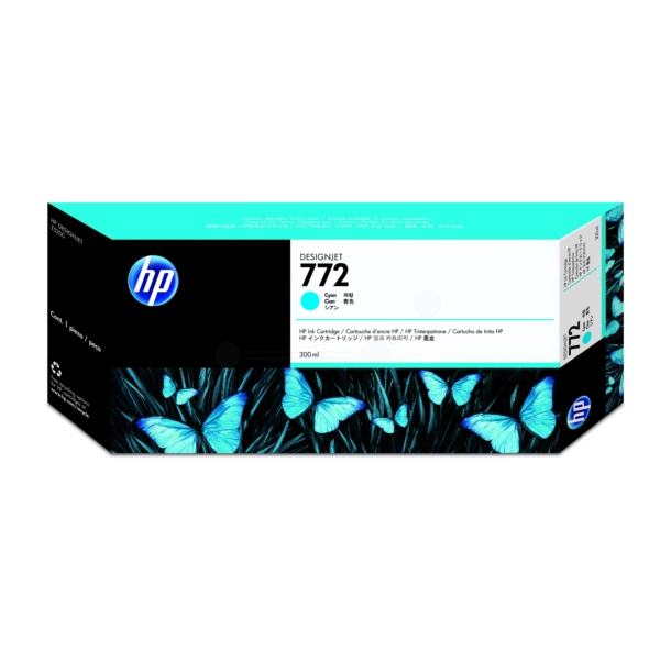 HP CN636A (772) Ink cartridge cyan, 300ml