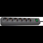 Brennenstuhl 1159700015 surge protector 6 AC outlet(s) Black 1.5 m