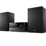 Philips BTB2515/12 home audio set Home audio micro system Black 15 W