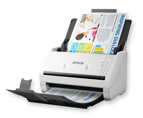 Epson WorkForce DS-530 Sheet-fed scanner 600 x 600DPI A4 Black,White