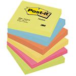 Post-It 654-TFEN self-adhesive note paper Square Multicolor 100 sheets