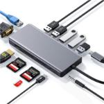 TACTUS USB TYPE-C 13-IN-1 MULTIPORT ADP