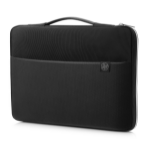 "HP 14"" Carry Sleeve Black/Silver 14"" Sleeve case Black, Silver"