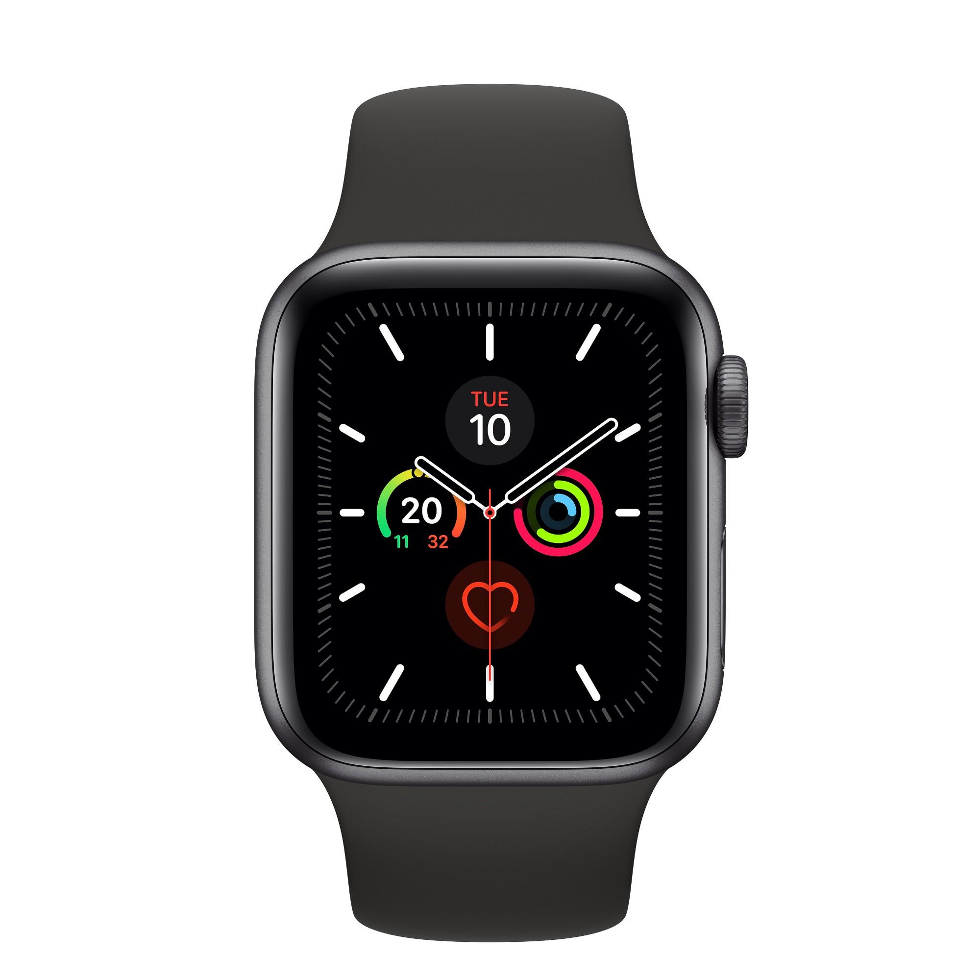 Apple Watch Series 5 smartwatch Grey OLED GPS satellite