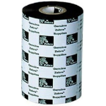 Zebra 2100 Wax Thermal Ribbon 80mm x 450m printer ribbon