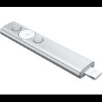 Logitech Spotlight wireless presenter Bluetooth/RF Silver