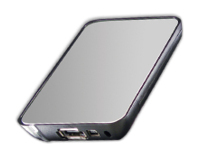 "MicroStorage SCB2A8 2.5"" USB powered Metallic,Silver HDD/SSD enclosure"