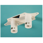 Ra technology RA1-6P-DCP projector mount accessory White