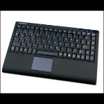 KeySonic ACK-540 RF+ RF Wireless AZERTY French Black keyboard