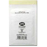 Jiffy Riggikraft Airkraft Postal Bags Bubble-lined Peel and Seal No.3 White 220x320mm Ref JL-3 [Pack 50]