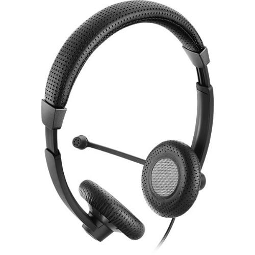 Sennheiser SC 70 USB MS BLACK Binaural Head-band Black headset