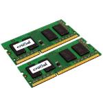 Crucial 8GB (2x4GB) DDR3-1600 CL11 SO-DIMM LV 8GB DDR3 1600MHz memory module